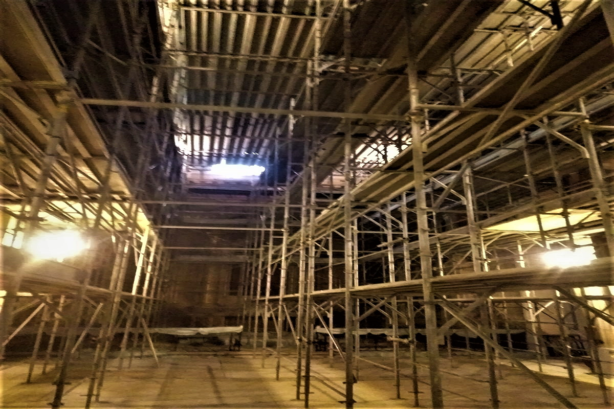 Gallery foto n.5 RP 105 - reparation of the interior of the church