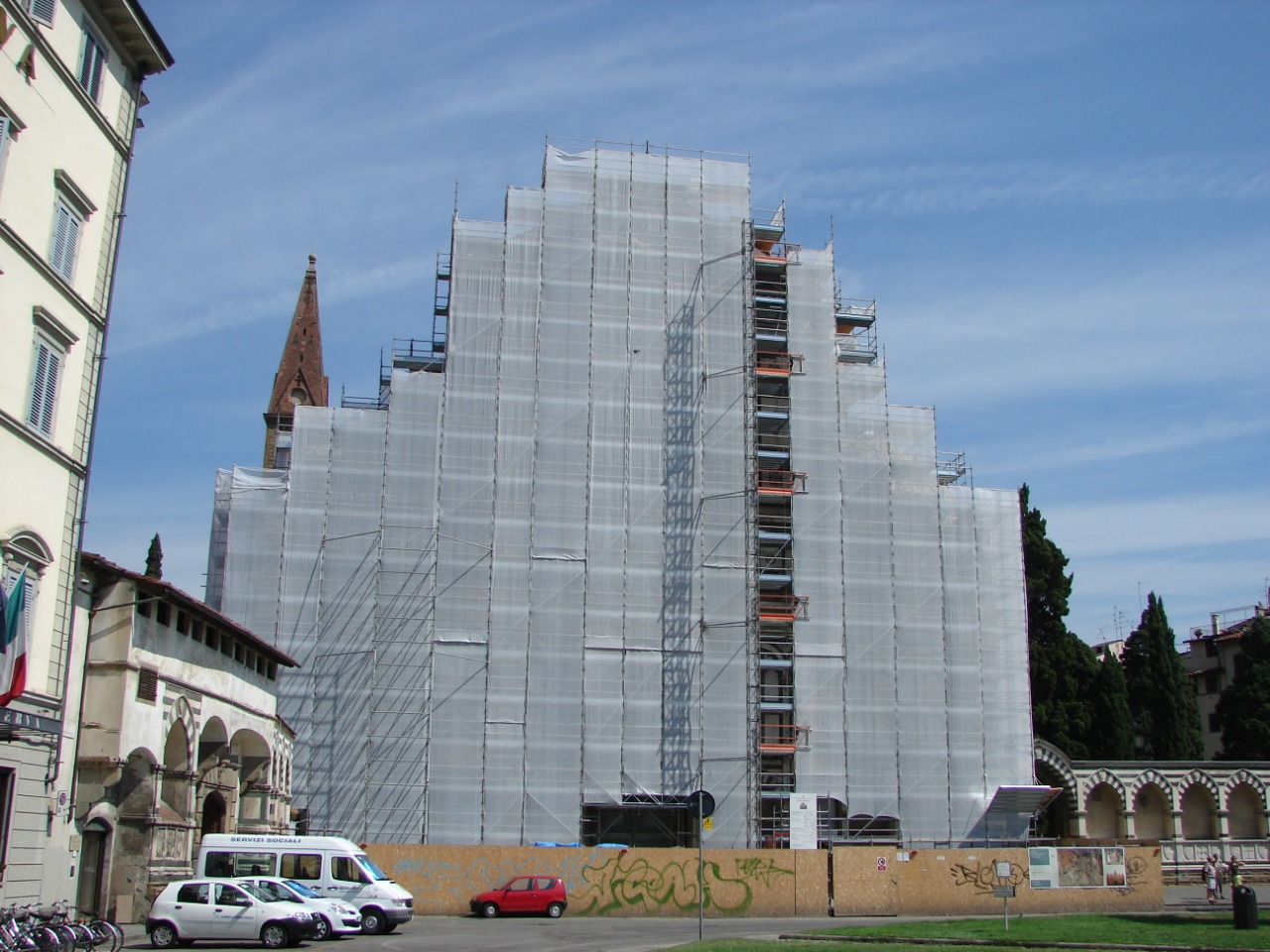 Gallery foto n.1 Multiceta - restauro Basilica di S.M. Novella