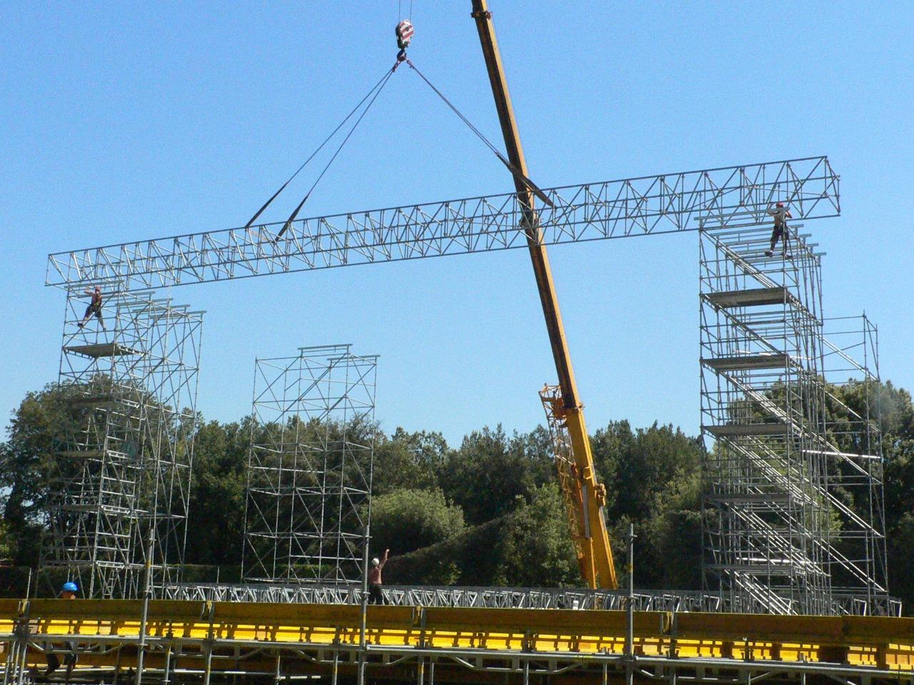 Gallery foto n.1 TMC beams for coverage - Opera festival