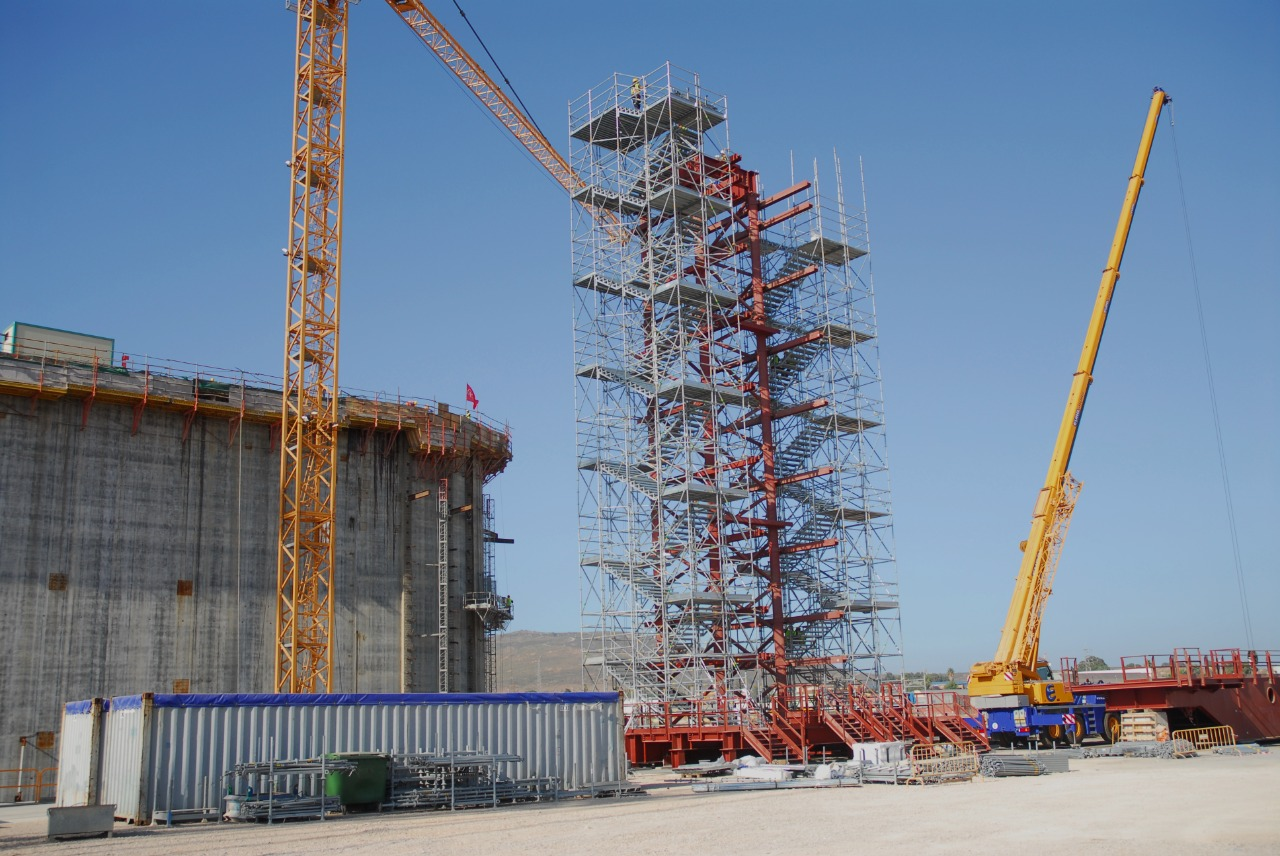 Gallery foto n.1 Exit stairway - Gas pipeline tower