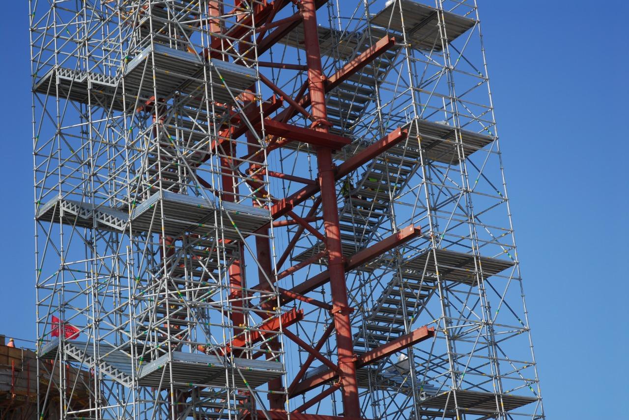 Gallery foto n.2 Exit stairway - Gas pipeline tower