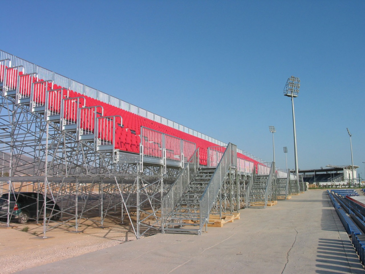 Gallery foto n.1 Prefabricated stand G2M15/2 - 2004 Olympic Games