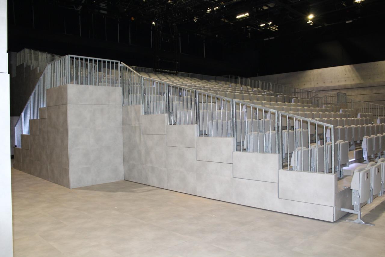 Gallery foto n.3 Tribune telescopiche - Teatro Armani