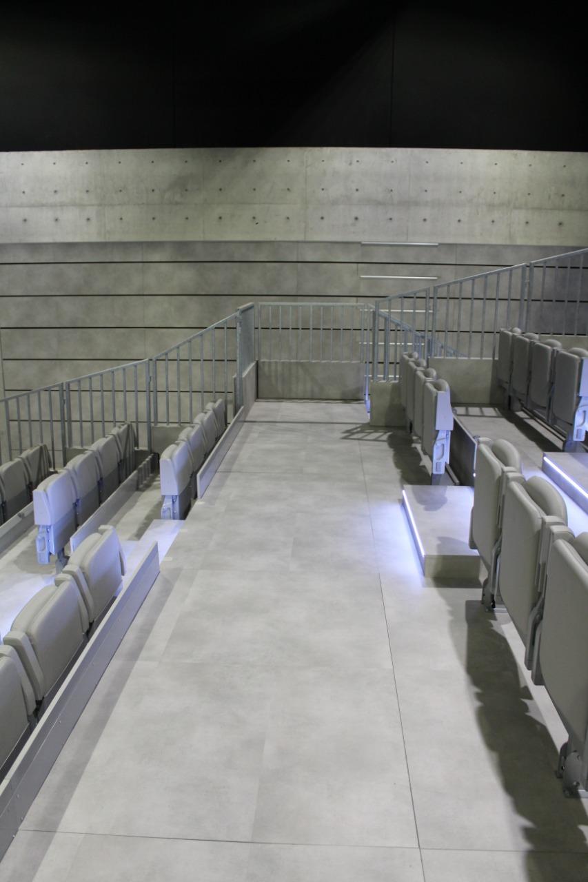 Gallery foto n.5 Телескопические трибуны - Театр Армани