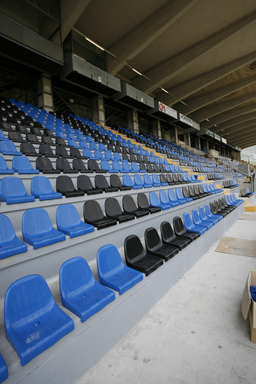 Gallery foto n.1 SET once-piece seats - Italian National Athletes Stadium