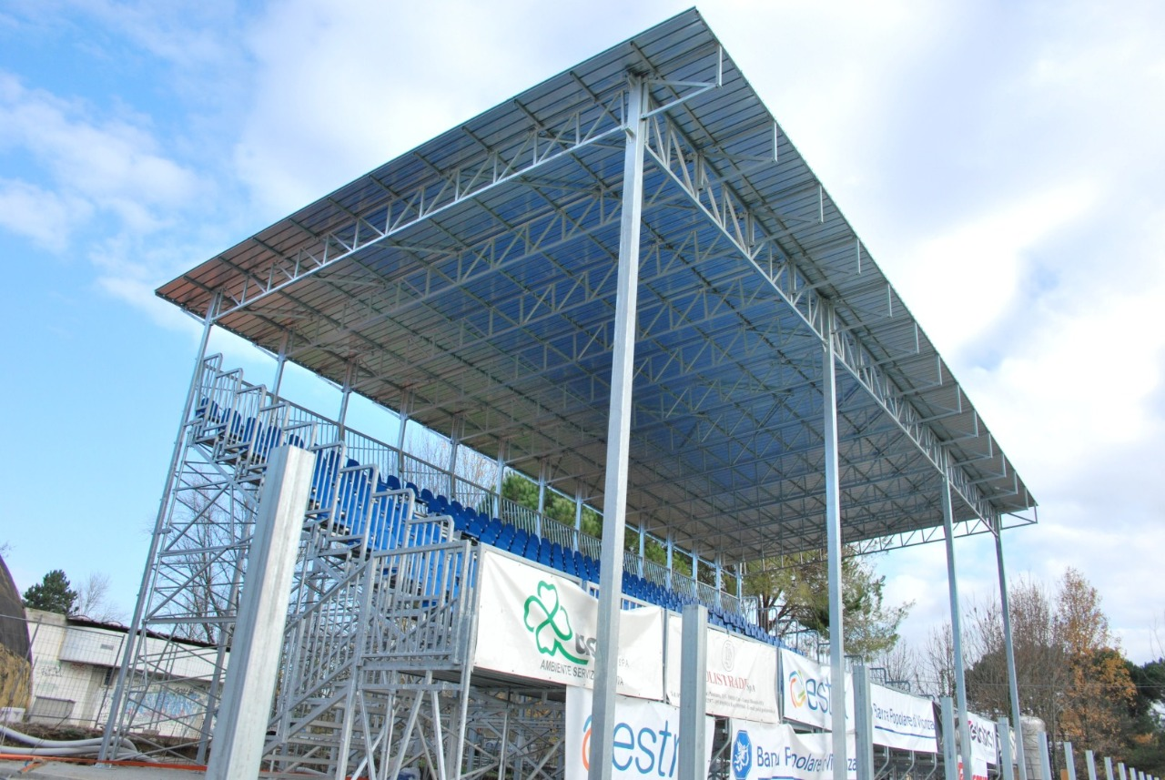 Gallery foto n.1 Prefabricated cover - Chersoni Rugby Stadium