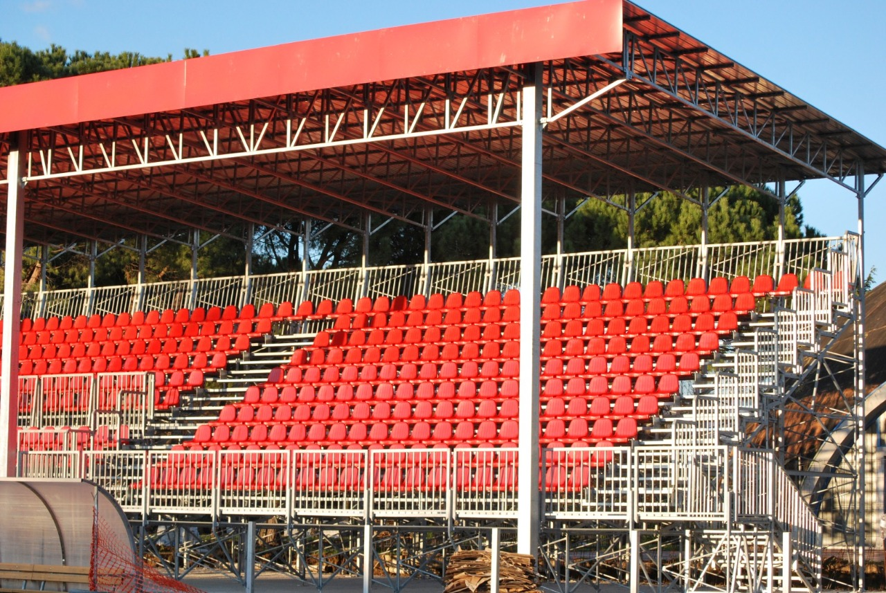 Gallery foto n.3 Prefabricated cover - Chersoni Rugby Stadium