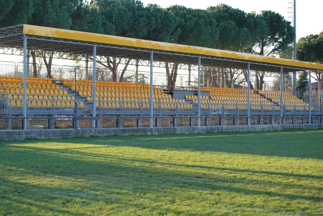 Gallery foto n.4 Prefabricated cover - Chersoni Rugby Stadium