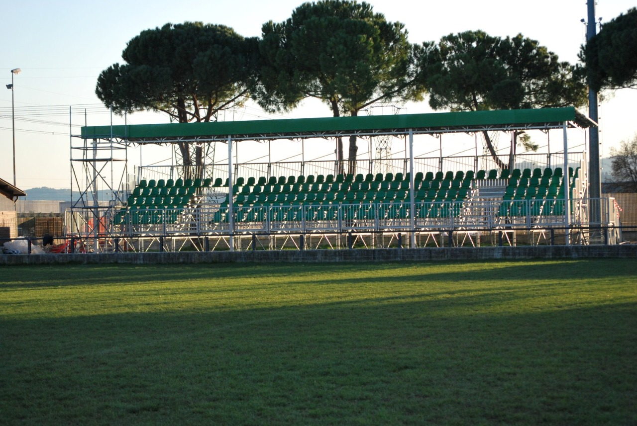 Gallery foto n.5 Prefabricated cover - Chersoni Rugby Stadium