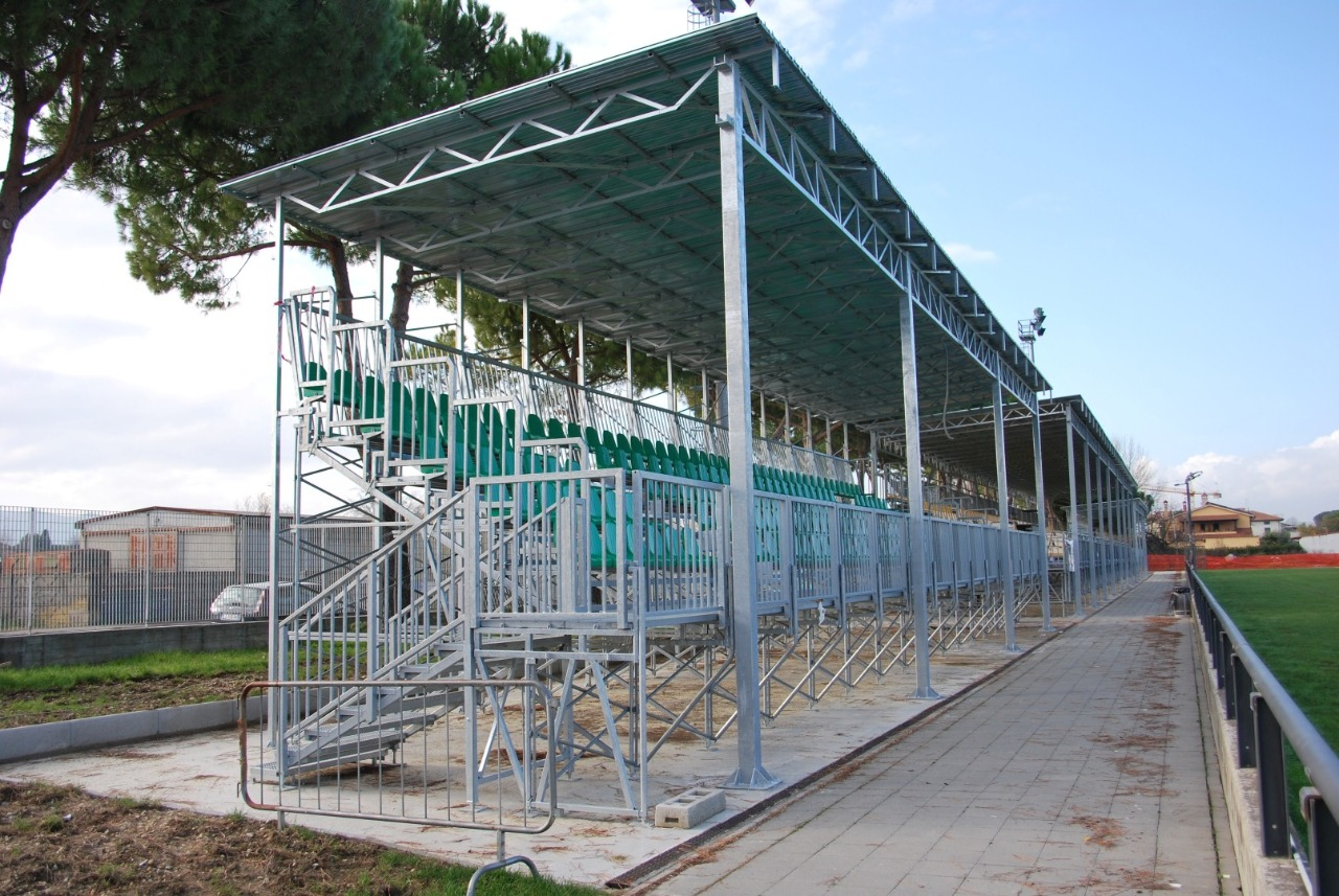 Gallery foto n.6 Prefabricated cover - Chersoni Rugby Stadium