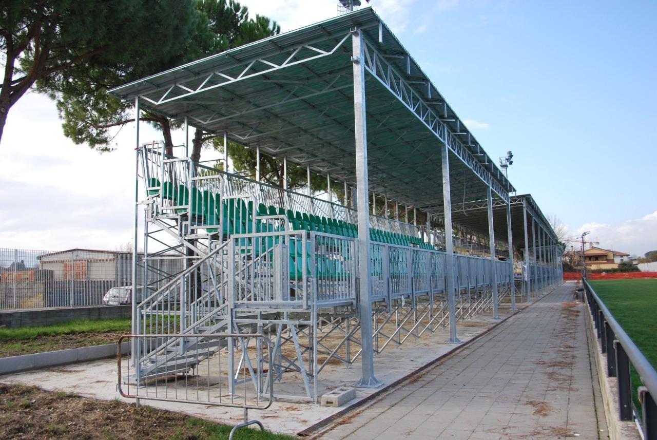 Gallery foto n.6 Coperture pref. - Stadio Rugby Chersoni
