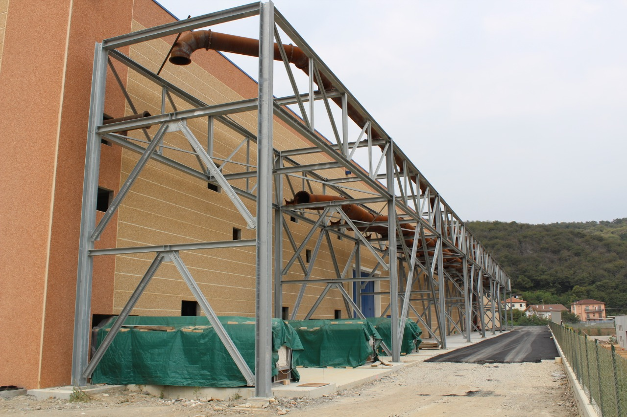 Gallery foto n.5 Rack Structure - Zincol Ossidi Plant