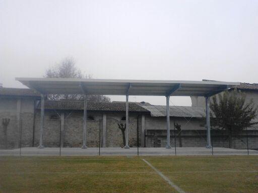 Gallery foto n.1 Copertura a sbalzo - Campo da calcio