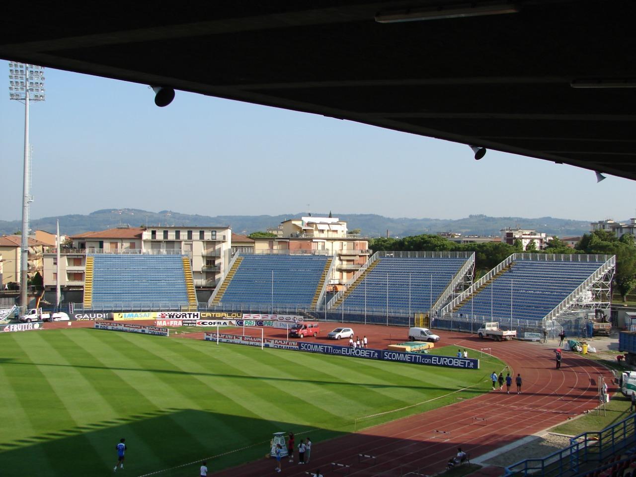Gallery foto n.1 Support scaffolding - Carlo Castellani Stadium