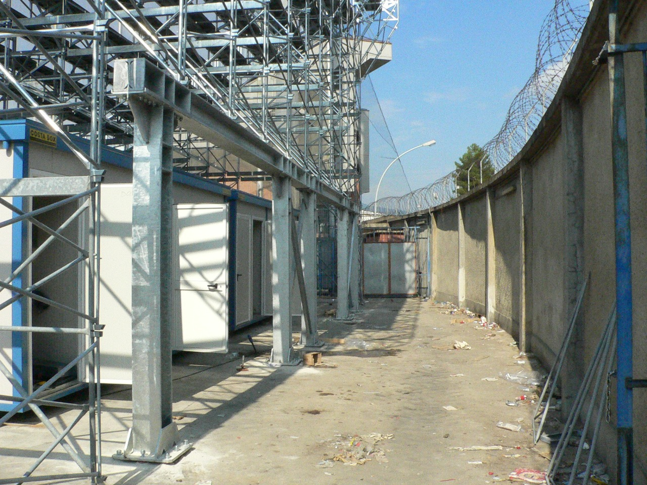 Gallery foto n.2 Support scaffolding - Carlo Castellani Stadium