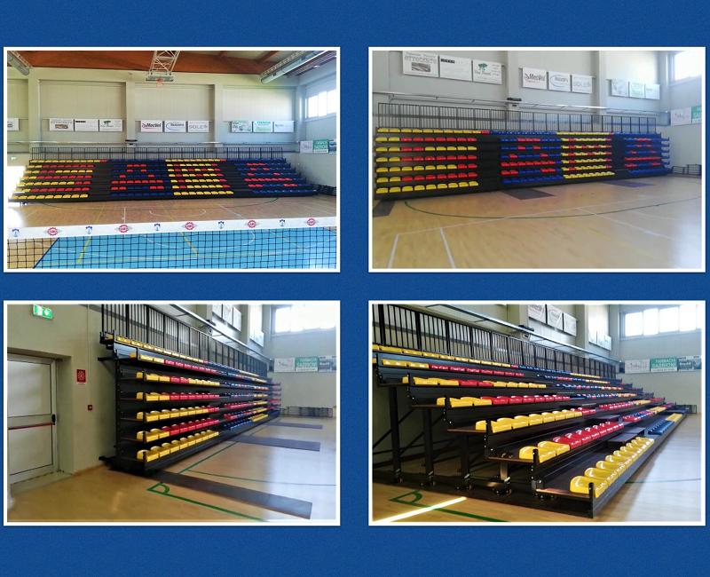Telescopic Grandstand at the Sports Hall of Portomaggiore