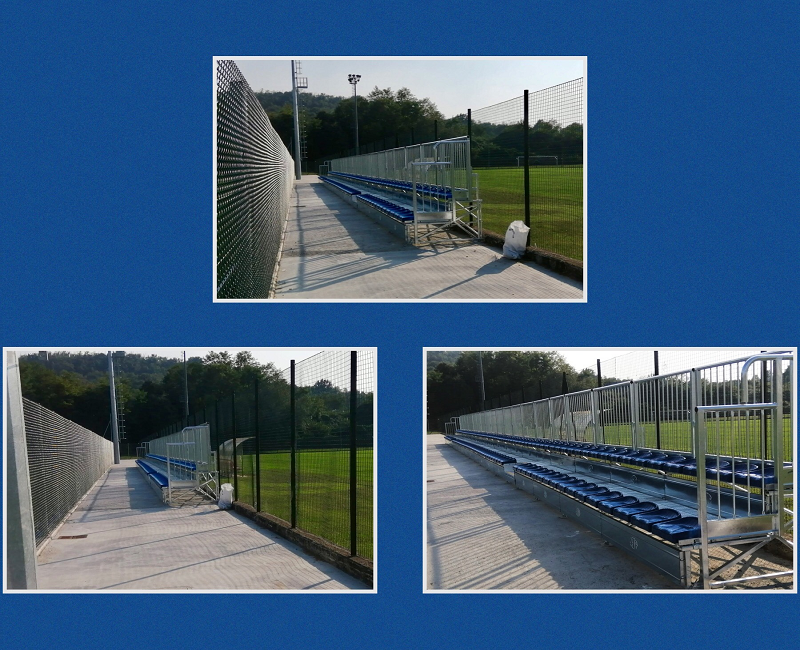 Prefabricated Grandstand at the Sports Center of Albano Sant'Alessandro