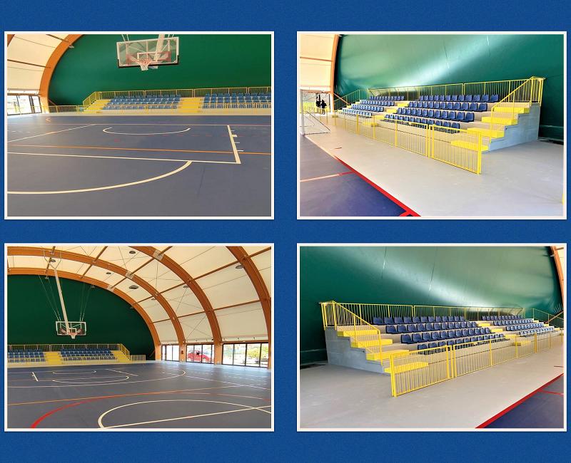 Monza seats for the sports center of Castrezzato.
