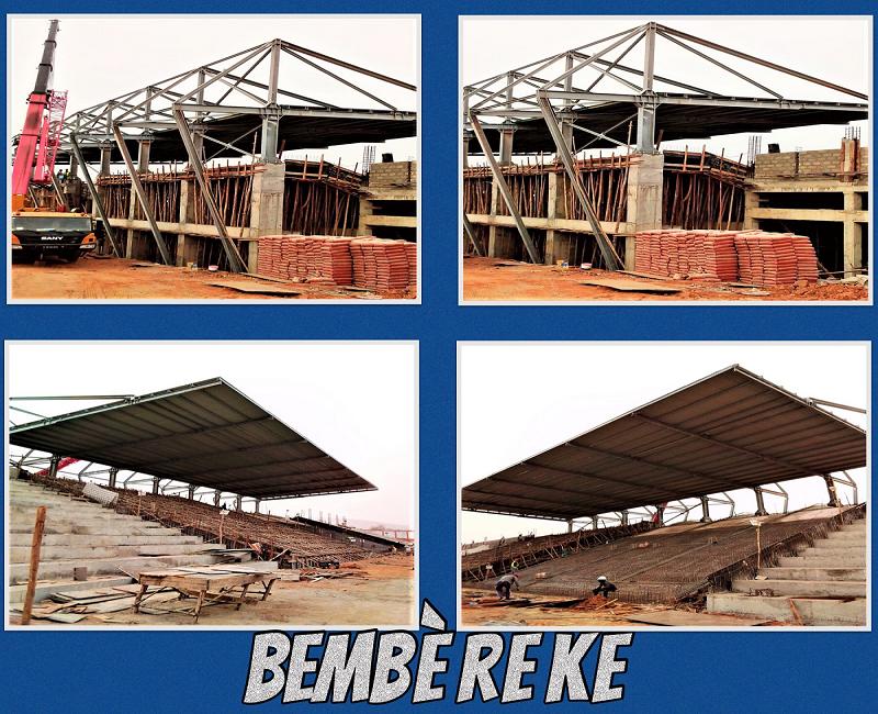 Benin: Sesta Copertura in Carpenteria  Metallica