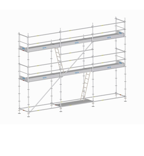 MC Multiceta multidirectional scaffolding system