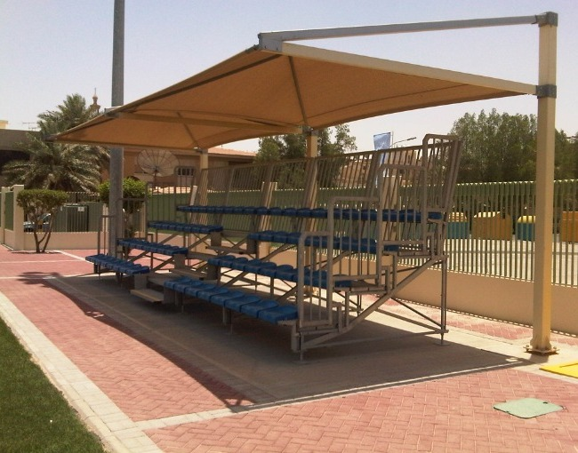 Prefabricated stands 2M4/0a - Al Khobar