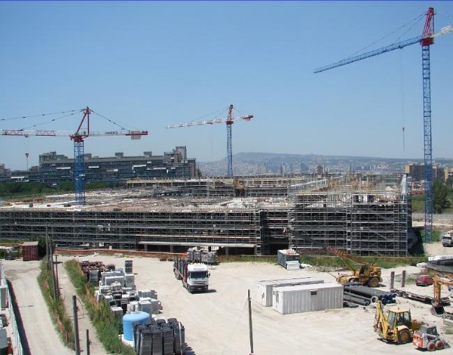 RP 105 - Ospedale del Mare construction