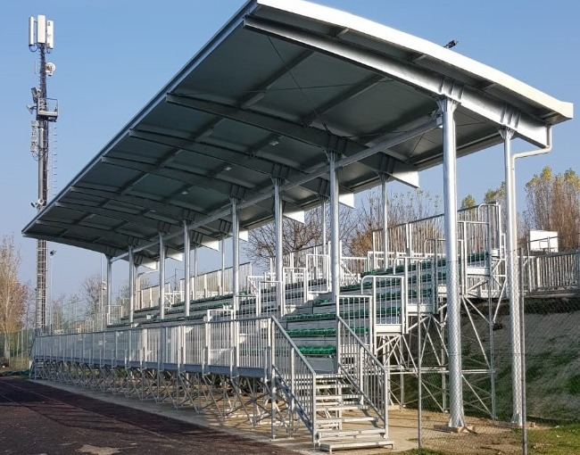 Prefabricated stand G2M6/1 - Football field