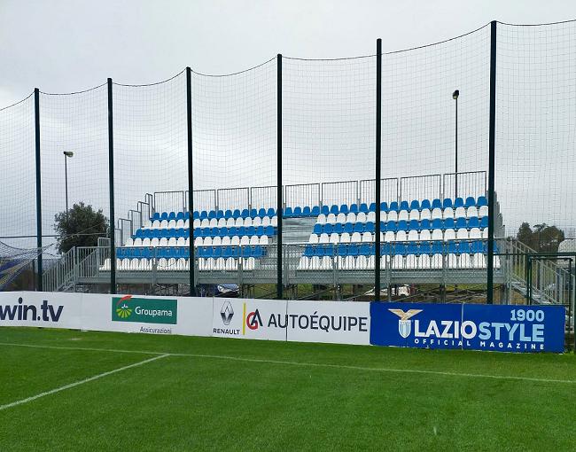 Tribuna prefabbricata G2M6/1 - centro sportivo SS Lazio