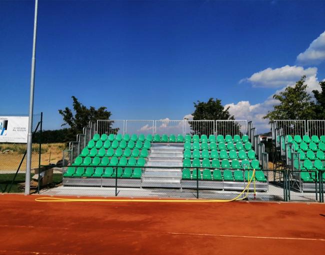 Tribuna prefabbricata G2M5/0 - Tennis Academy