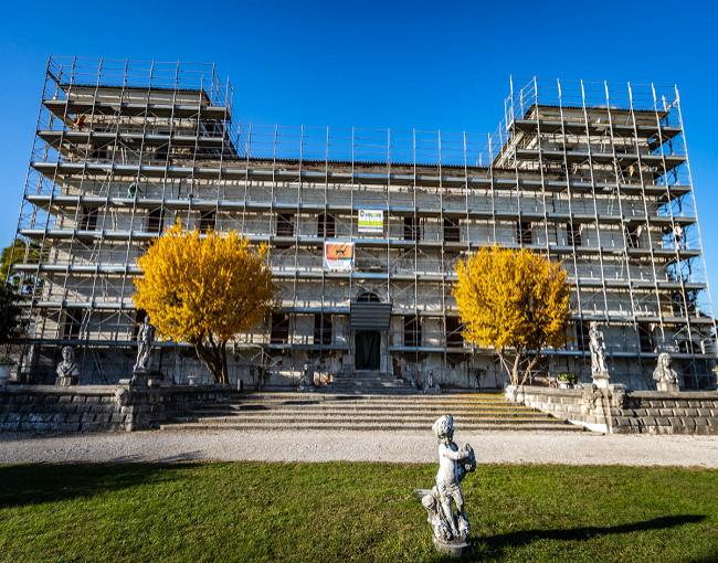RP 105 - restauro facciate villa