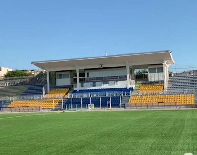 Prefabricated stands G2M - Monterisi Stadium