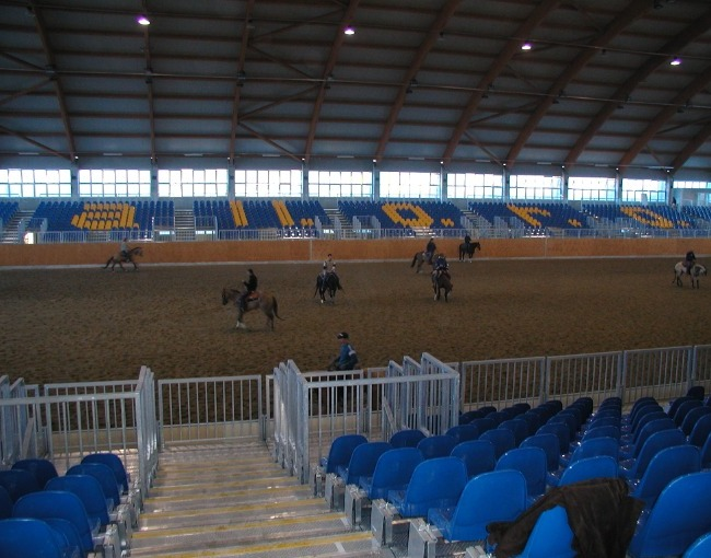 Prefabricated stands M12/1 - Horse Riding Center