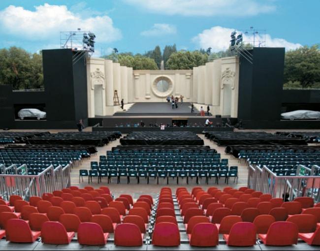 منصة مسرح - مهرجان أوبرا