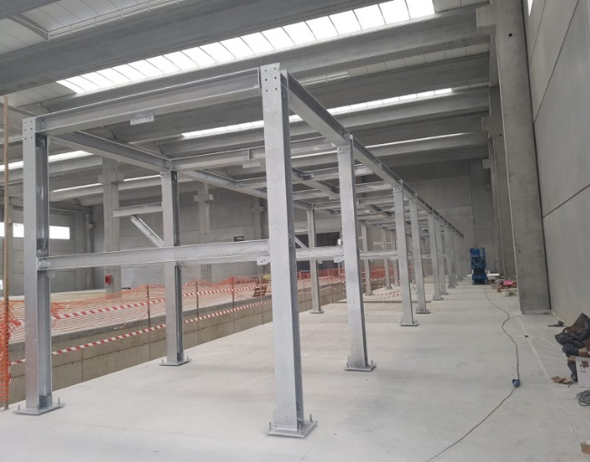 Металлоконструкции - Завод Zincol Ossidi