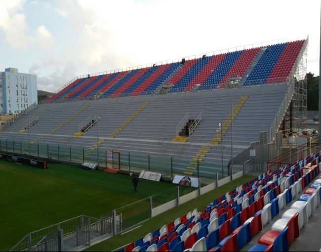 Prefabricated stand P75-70/7 - Ezio Scida Stadium