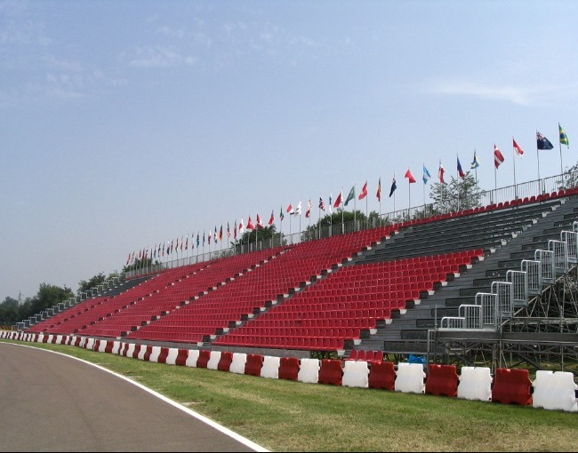 Prefabricated stand G2M21/0 - Ferrari racetrack
