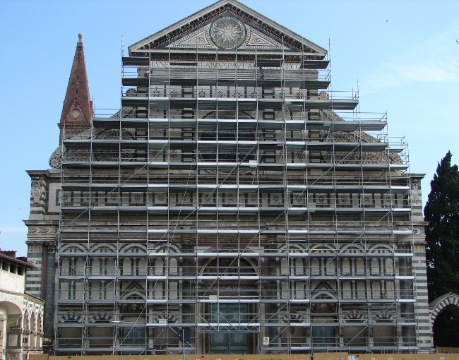 Multiceta - Restoration of the S. Maria Novella Basilica