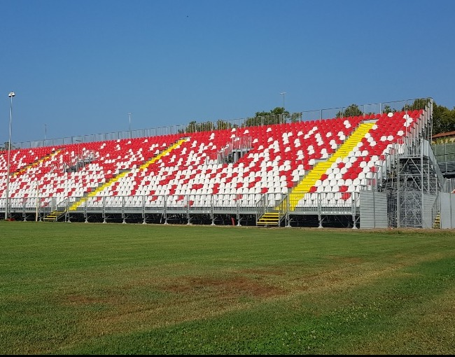 Tribuna prefabbricata G2M18/1 - Stadio Sandro Cabassi