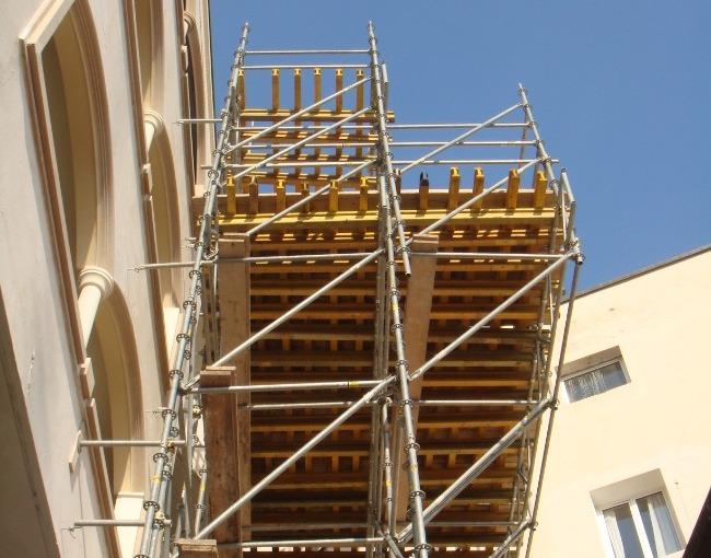 Loading platform - Building construction