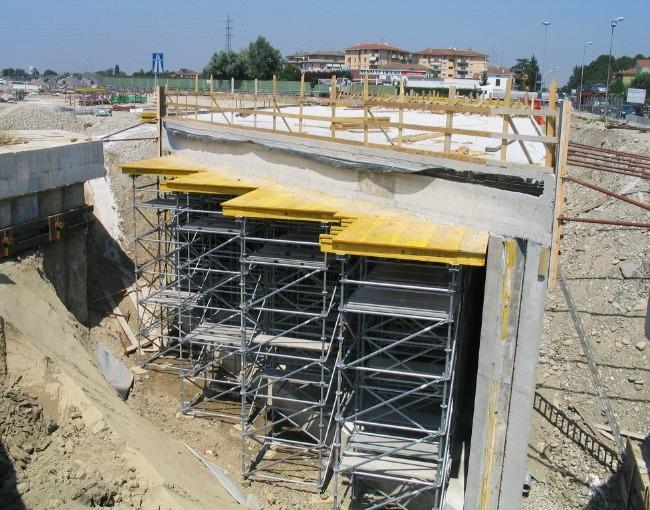 Опорная система - Автострада Милан-Болонья