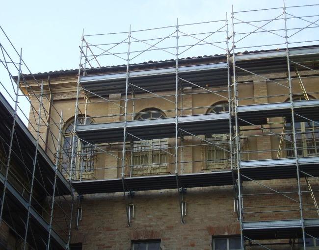 أطناف - ترميم مبنى