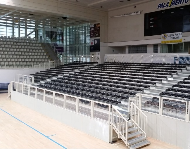 Prefabricated stand M14/1 - BLM Group Arena