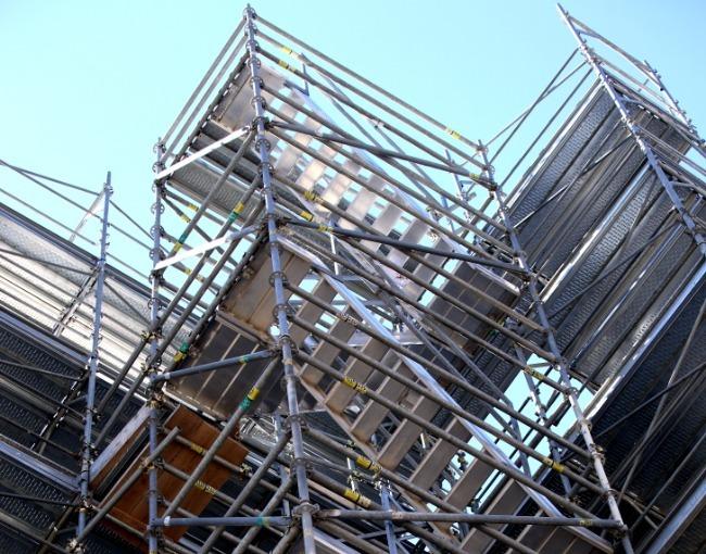 Access stairway - Trento Futura